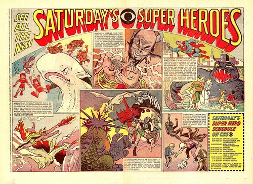 CBS Saturday Morning 1967 Lineup Ad