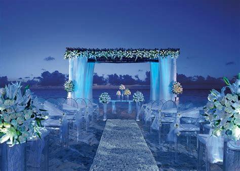 Night wedding decoration on the beach.   We Do   Pinterest
