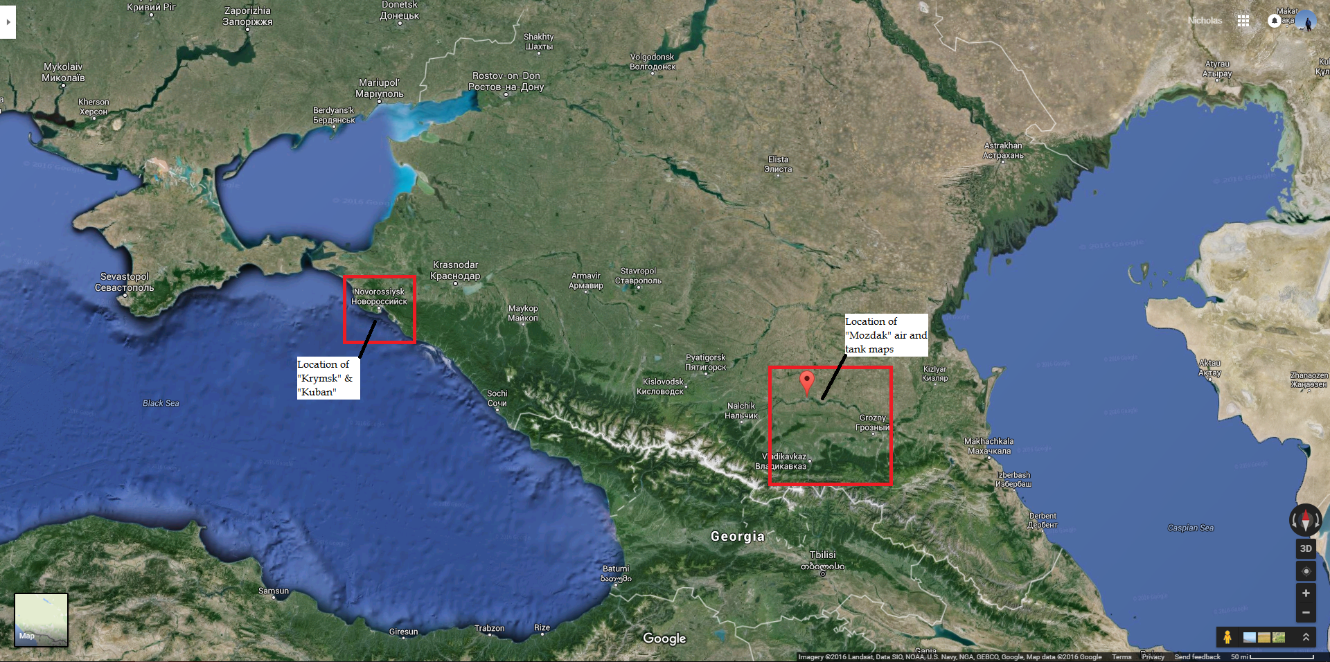 Comparing War Thunder maps to their real life locations - General Discussion - War Thunder ...