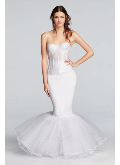 Extreme Mermaid Silhouette Slip   David's Bridal