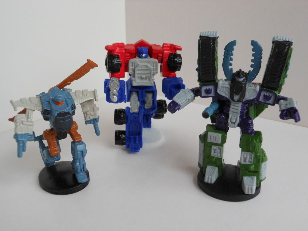 Transformers Armada miniatures