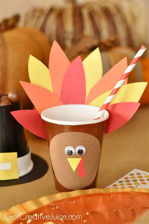 easy kids thanksgiving table craft tutorials creative