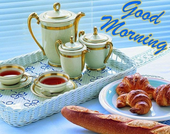 Good Morning Tea And Breakfast Pictures Photos And Images For
