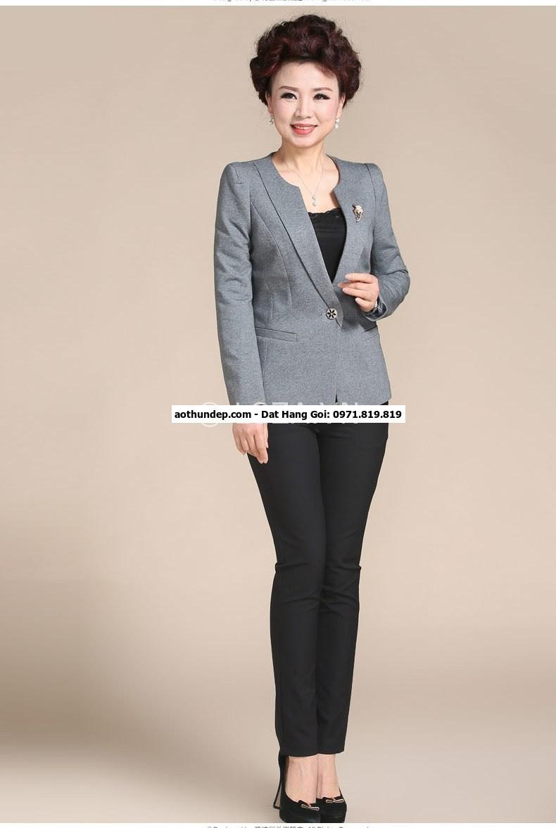 bộ vest nữ cách điệu