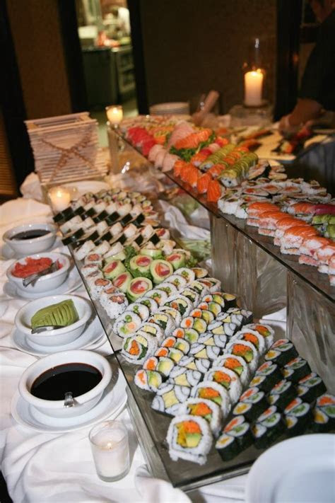17 Best ideas about Sushi Catering on Pinterest   Food