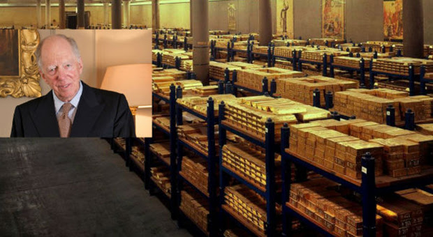 jacob rothschild recently announced his plans to buy up vast amounts of gold as a stark warning to bankers that the world is now in unchartered water