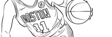 Free Printable Coloring Pages Nba Players