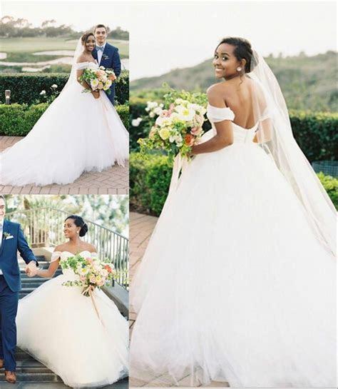 Gorgeous Arabic Plus Size Country Wedding Dresses Simple