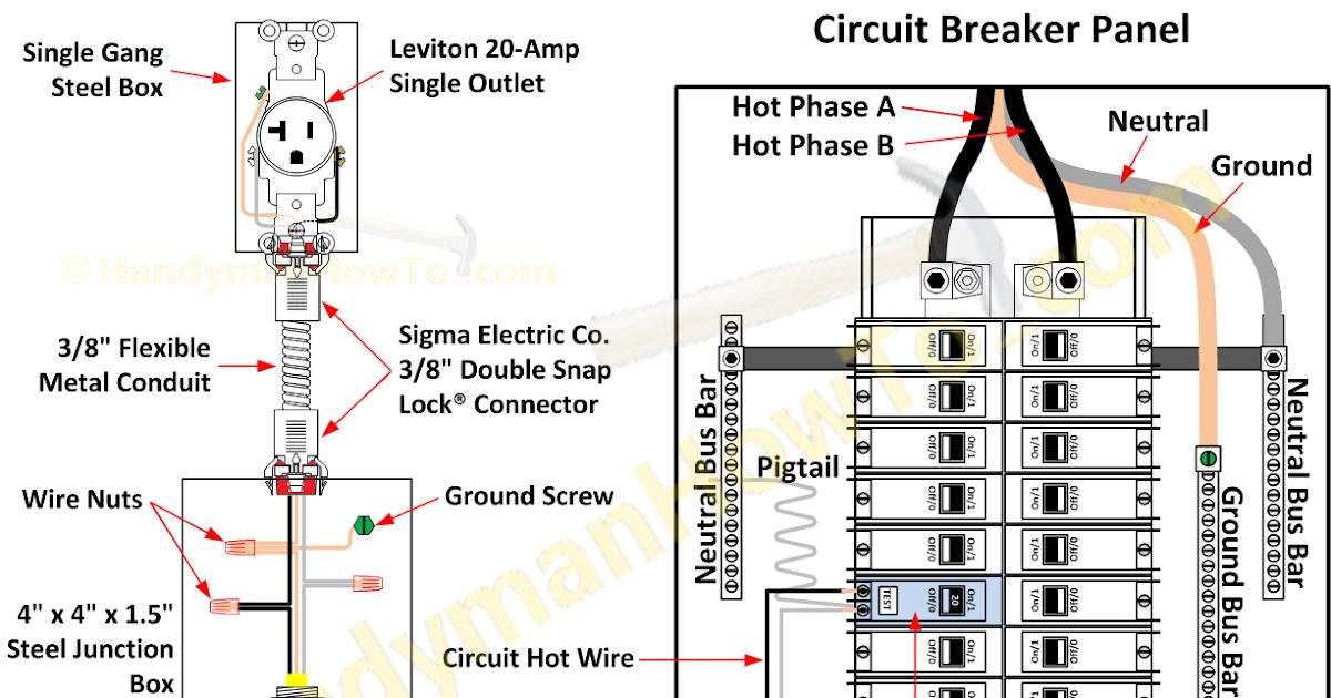 Electrical Circuit Breaker Diagram - Circuit Diagram Images