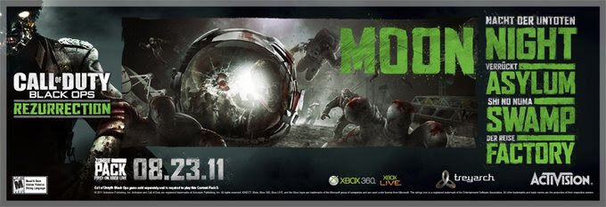 Call Of Duty Black Ops All Zombie Rezurrection Map Pack