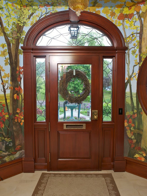 traditional entrance door design  | 904 x 1000