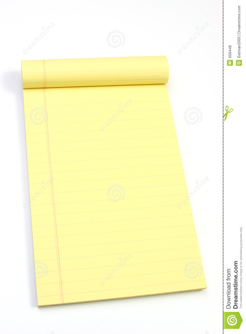 Blank Yellow Pages Oblique Royalty Free Stock Photos - Image: 609448