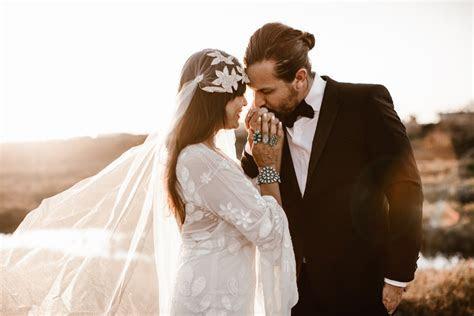 Krista and Daniel's Bohemian Gastropub Real Wedding