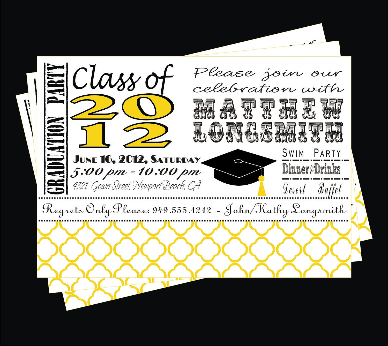 Contoh Surat Undangan Graduation - Contoh Isi Undangan