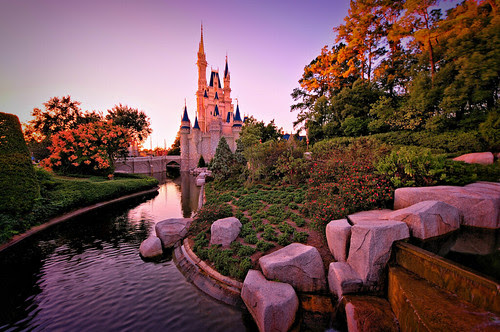 Sunset On Cinderella's Kingdom