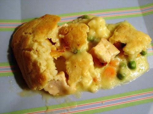 Paula Deen's Hurry Up Chicken Pot Pie