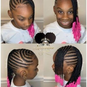 CUTE BABY GIRL'S HAIRSTYLES WITH BEADS