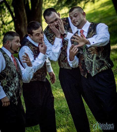 Camo Themed Wedding