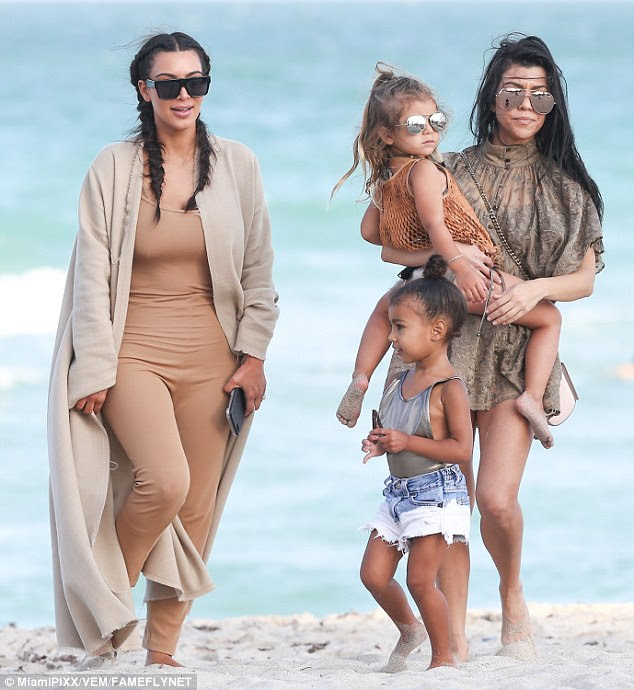 R&R:The fun family time was obviously a highlight for the little ones, but it also gave their moms a chance to enjoy some low key fun before a big action-packed weekend