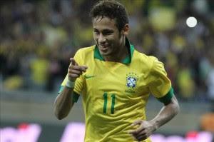 El jugador Neymar. EFE/Archivo