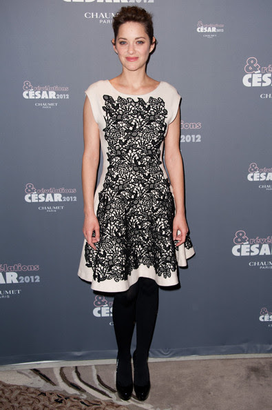 Marion Cotillard Marion Cotillard attends the Chaumet's Cocktail Party for Cesar's Revelations 2012 on January 16, 2012 in Paris, France.