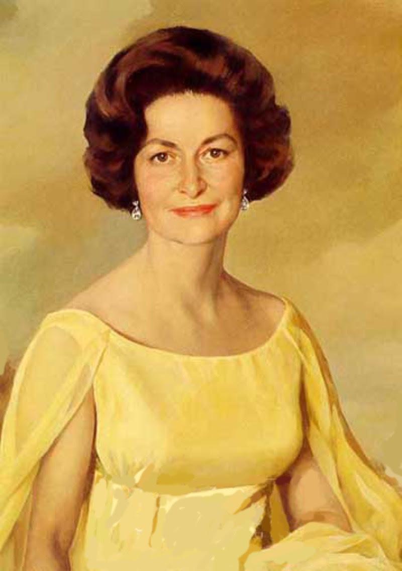 Risultati immagini per first lady bird johnson