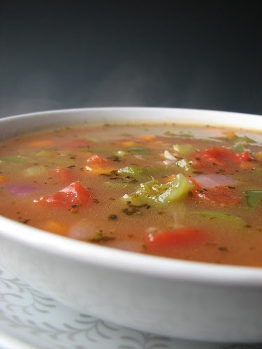 """Clean-out-the-Fridge"" Vegetable Soup"