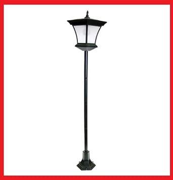 130cm Solar Powered Garden Lamp Post Outdoor Garden Lamp ...