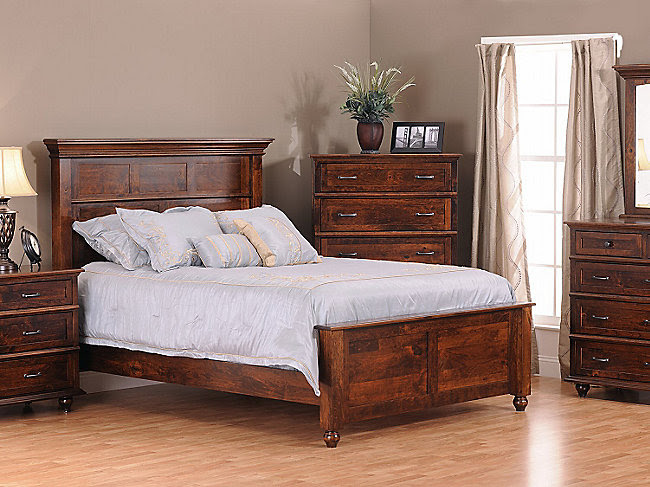 SPRINGFIELD QUEEN BEDROOM BY AMISH CRAFTSMEN | HOM Furniture