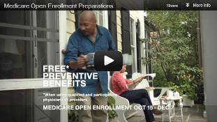 Video: Medicare Open Enrollment Preparations