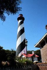 St. Augustine Lighthouse Ink Outline