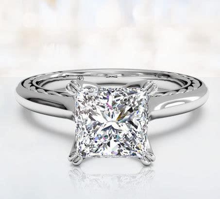Princess Cut Engagement Rings   Ritani
