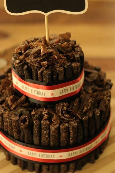 Custom biltong birthday cake!   Biltong Cakes in 2019