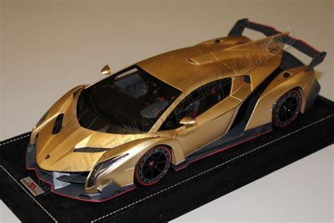 MR Collection 2013 Lamborghini Lamborghini Veneno   ORO ELIOS MATT   Elios Gold Matt