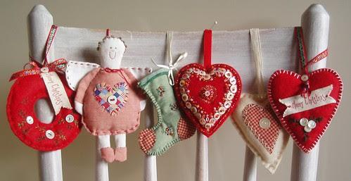 holiday season ornaments