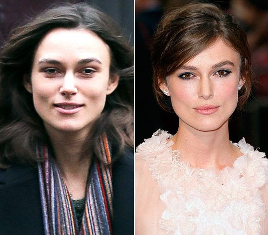 Stars Without Makeup: Keira Knightley-beautiful