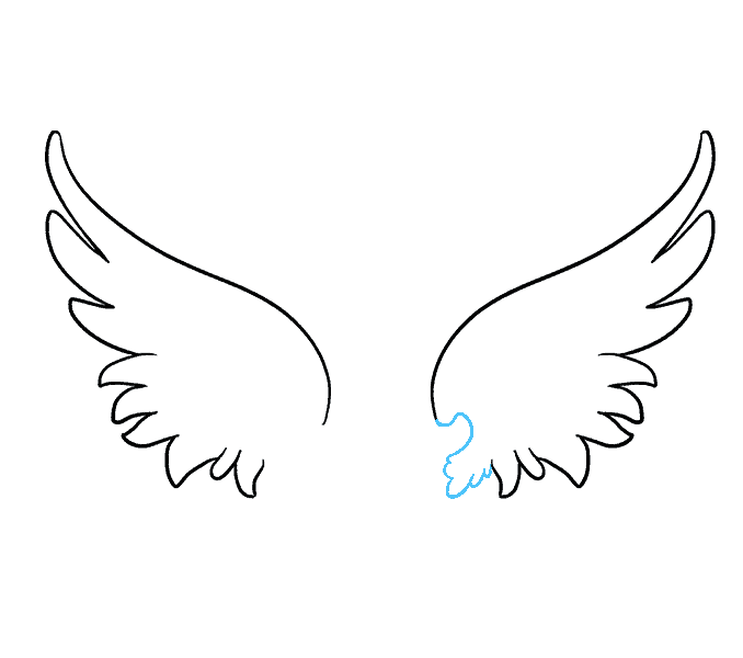20 Latest Drawing Pictures Of Angel Wings