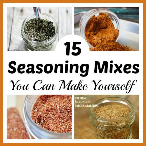 15 Seasoning Mixes You Can Make Yourself- Easy DIY ...