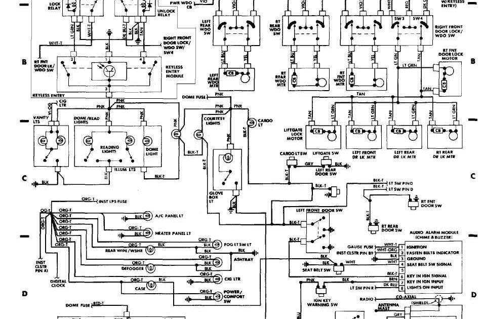 2000 Jeep Cherokee Wiring Diagram