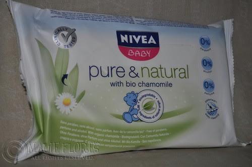 NIVEA Baby Pure and Natural wipes 1