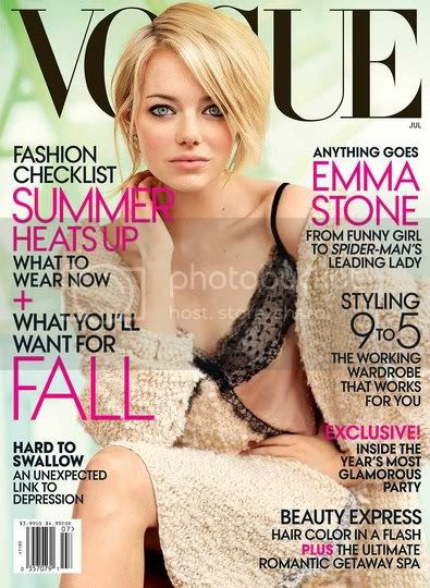 Emma Stone on Vogue July 2012 Cover