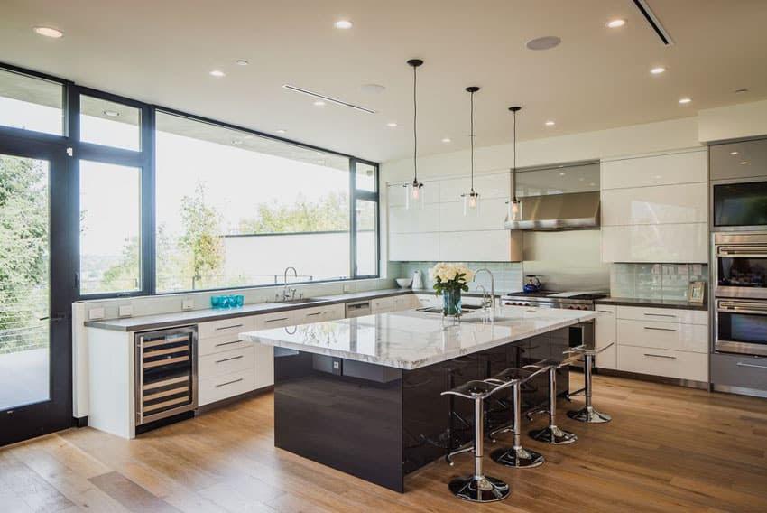 28 Modern White Kitchen Design Ideas (Photos) - Designing Idea