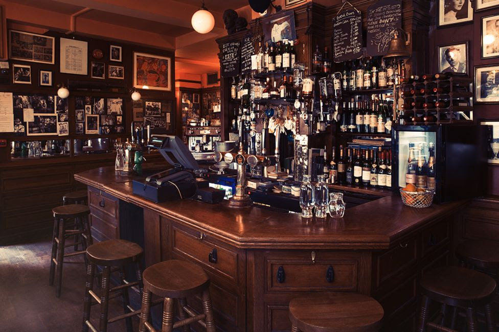 The French House pub - Soho, London