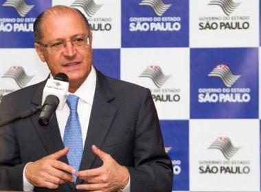 Crise com 'centrão' aumenta pressão para Alckmin assumir comando do PSDB