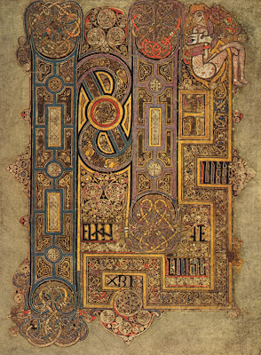 The Book of Kells - illuminated page