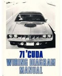 1971 Plymouth Satellite Wiring Diagram