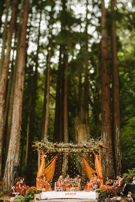 5 Unusual Outdoor Wedding Venues and Theme Ideas That Are
