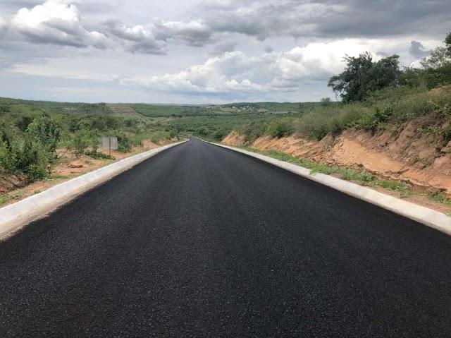 Trânsito entre Ceará e Paraíba é facilitado pela nova pavimentação da CE-397, em Mauriti