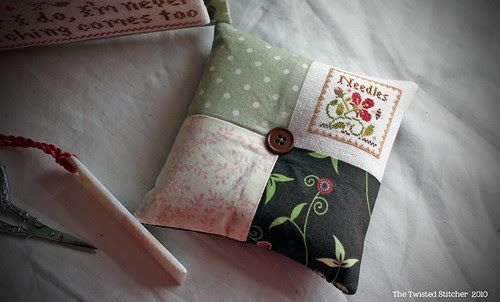 Little House Travelling Stitcher Pincushion