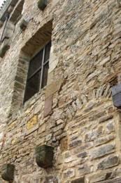Cordes sur Ciel : Une façade de la maison Gaugiran